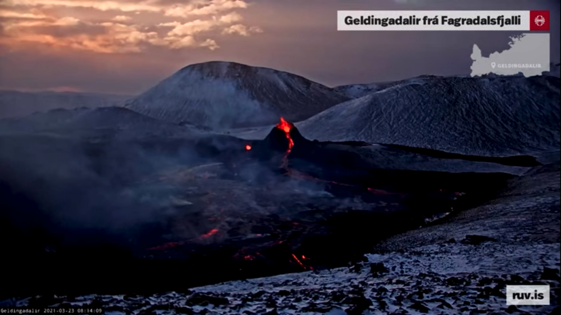 Geldingadalur Volcano Live Feed